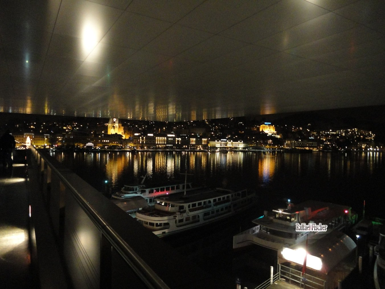 Schiffe, unter KKL-Dach