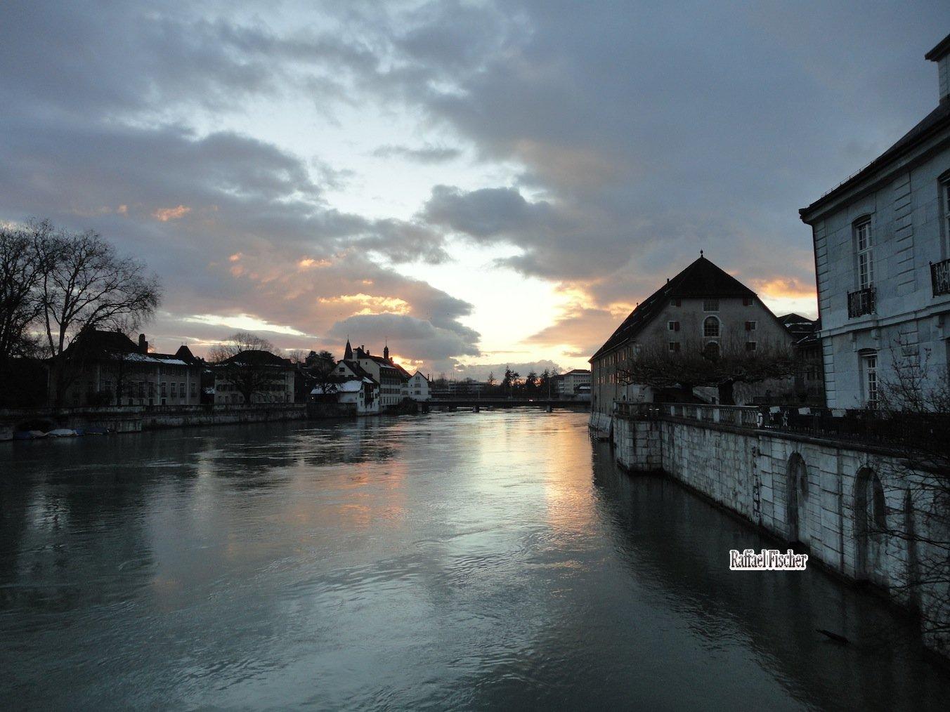 Dämmerung in Solothurn