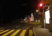 Weihnachtsbaum am Schweizerhof