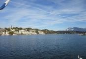 Blick zur Hofkirche über See