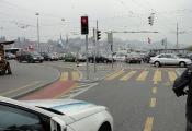 Alltäglicher Verkehr am Bahnhofplatz