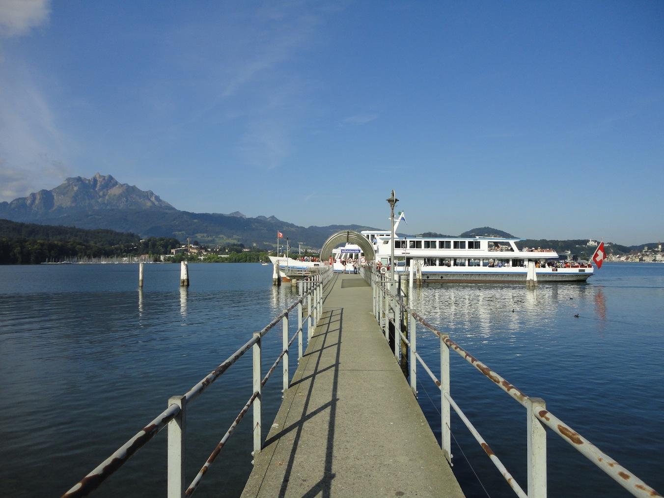 Schiffstation Verkehrshaus-Lido 2