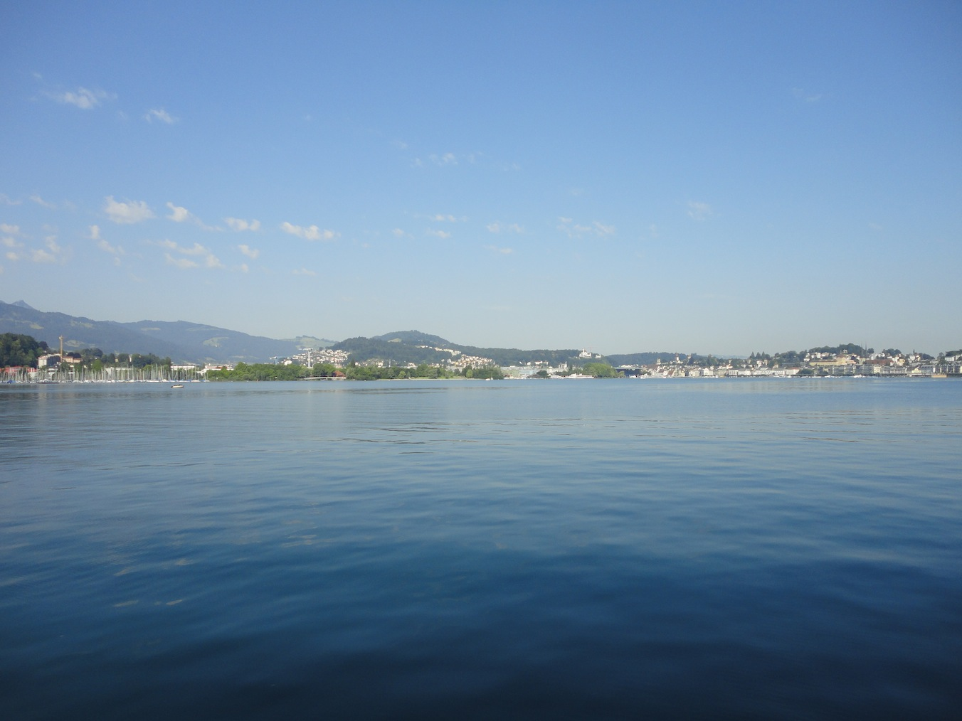 Seesicht Richtung Luzern