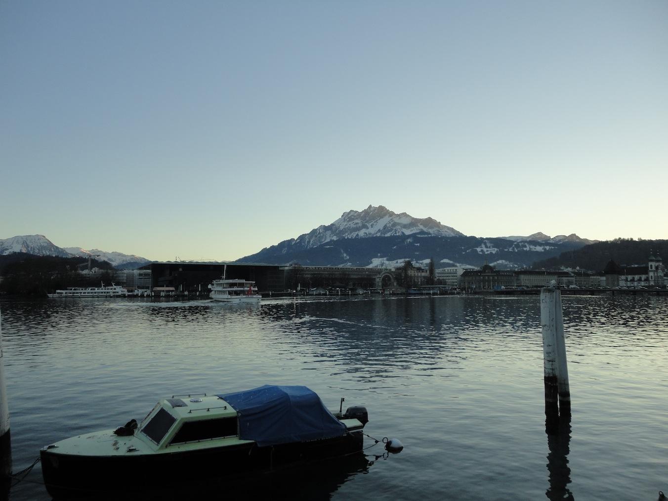 Luzerner Becken und Pilatus
