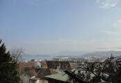 Luzern von oben: Wasserturm, KKL und See